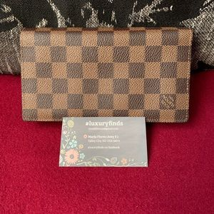 Louis Vuitton Damier Ebene Brazza Wallet